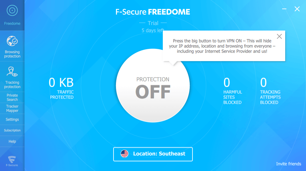 Freedome VPN Windows Client