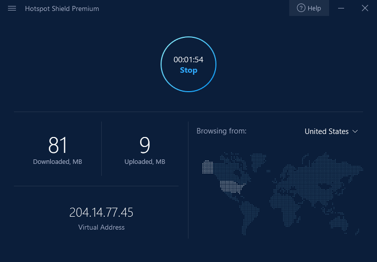 Aplikasi Hotspot Shield Windows