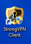 Icona desktop Windows StrongVPN